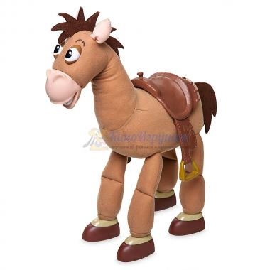Плюшевый конь Булзай со звуком 41 см История игрушек Disney Store