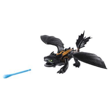 Игрушка Дракон Беззубик стреляющий с Иккингом
