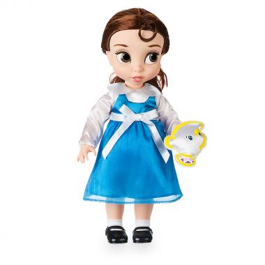 Кукла малышка Белль в детстве 41 см Disney Store Animators 2017