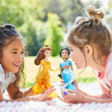Кукла принцесса Белль с кольцом Красавица и Чудовище