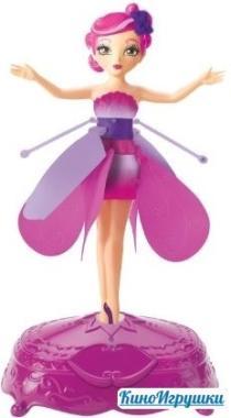 Летающая Фея Цветов Flutterbye Flying Fairy розовая