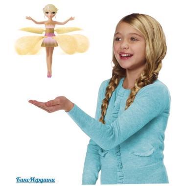 Летающая фея Лугов Flutterbye Flying Fairy Желтая