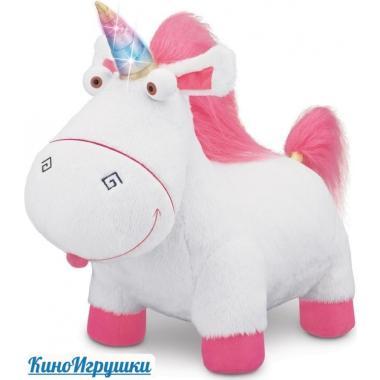 Единорог Флаффи - любимая плюшевая игрушка Агнес Гадкий Я