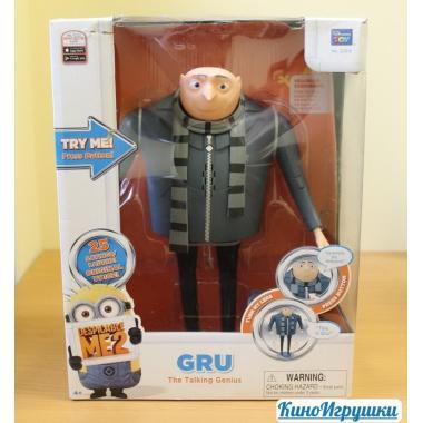 Говорящий злодей Грю интерактивная игрушка Гадкий Я