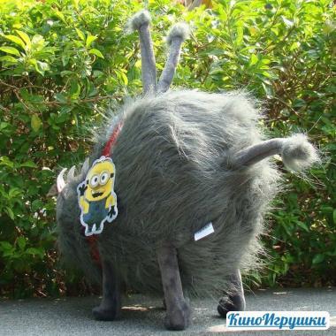 Плюшевая собака Кайл Мягкая игрушка 30 см по фильму Гадкий Я
