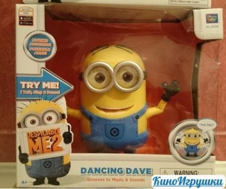 Танцующий Миньон Дэйв Интерактивный THINKWAY Toys