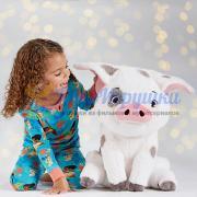 Большая Плюшевая игрушка Пуа из Моаны Disney Store 44 см