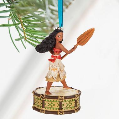 Елочная игрушка ручной работы Моана поющая Disney Store