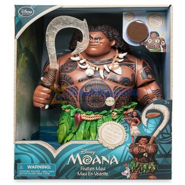Говорящая фигурка Мауи из Моаны Disney Store 31 см