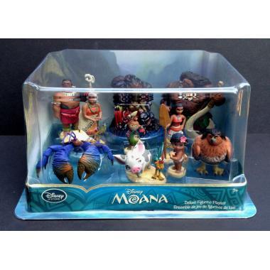 Игровой набор фигурок 10 шт Моана Disney Store