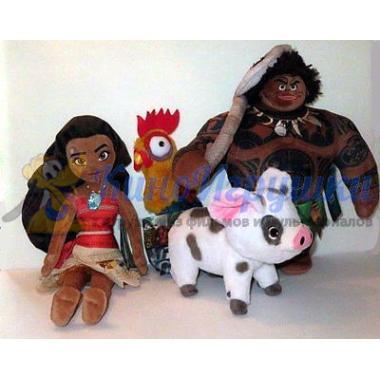 Игрушка Плюшевый Мауи Disney Store Moana 38 см