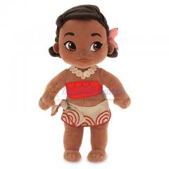 Кукла малышка Моана плюшевая Аниматорс Disney Store