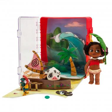 Игровой набор мини кукла малышка Моана Disney Animators