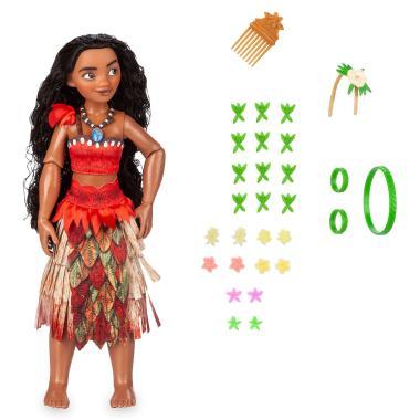 Кукла Моана 30 см Набор игры с волосами Disney