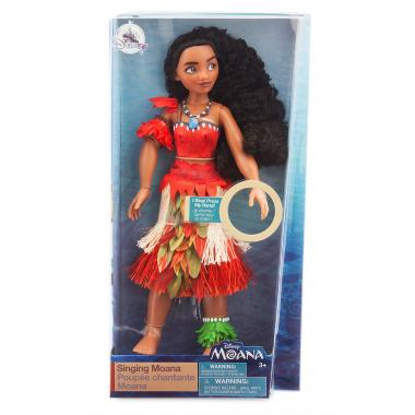Поющая кукла Моана 28 см Disney Store 2018