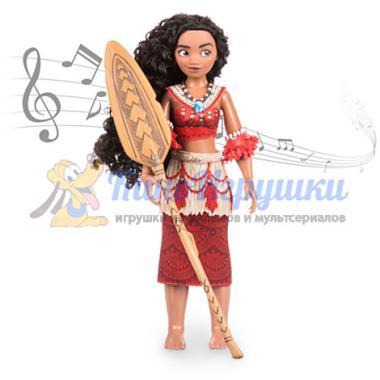 Поющая Кукла Моана 28 см набор ДеЛюкс Disney Store 2016