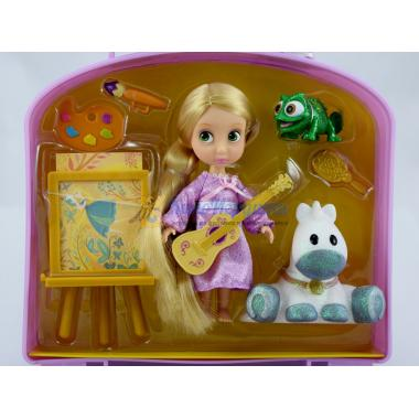 Игровой набор Кукла Рапунцель Мини с аксессуарами 2015 Дисней Аниматор