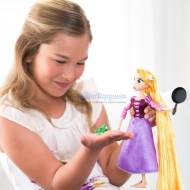 Кукла Рапунцель Новая История 26 см шарнирная со сковородой Disney Store
