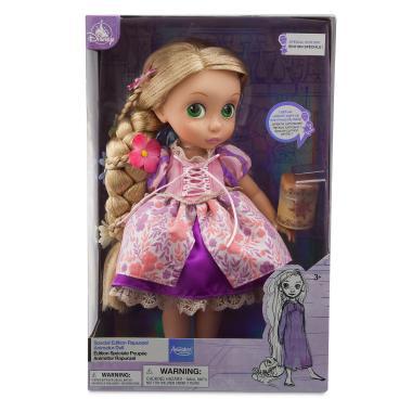 Кукла малышка Рапунцель со светящимися волосами