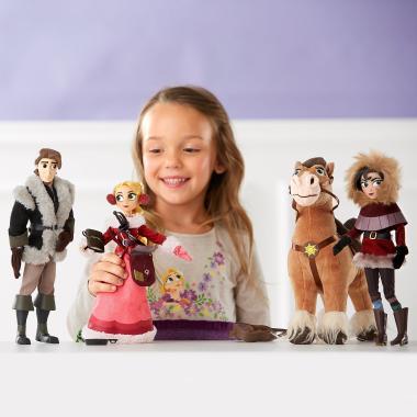Набор 4 куклы Рапунцель Новая история ДэЛюкс со сменными нарядами Disney Store