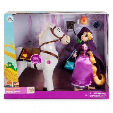 Набор кукла Рапунцель и Максимус со звуком Новая история Disney Store