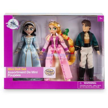 Набор мини-кукол 13 см Рапунцель Новая история Disney Store