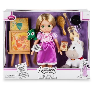 Поющая кукла Рапунцель в детстве 41 см Disney Animator Делюкс набор