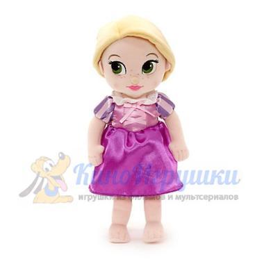 Рапунцель в детстве плюшевая кукла 33 см Disney Store Animators