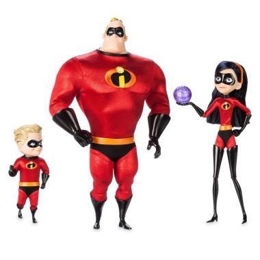 Коллекционный набор кукол Мистер Исключительный, Фиалка, Шастик Суперсемейка 2