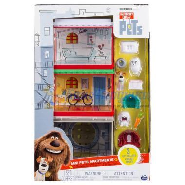 Игровой набор апартаменты с фигурками Тайная Жизнь Домашних Животных