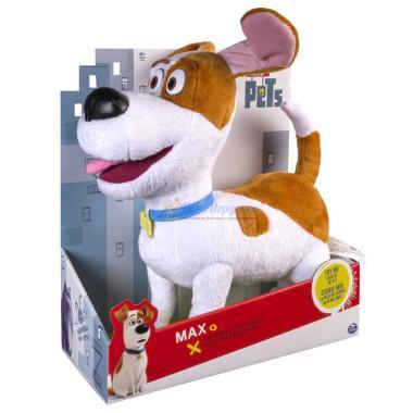 Плюшевый Говорящий Макс 31 см Тайная Жизнь Домашних Животных Spin Master
