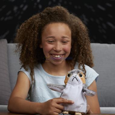 Интерактивная плюшевая игрушка Порг говорящий Hasbro Звездные Войны