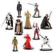 Набор фигурок 10 шт Звездные Войны Последние джедаи Disney Store
