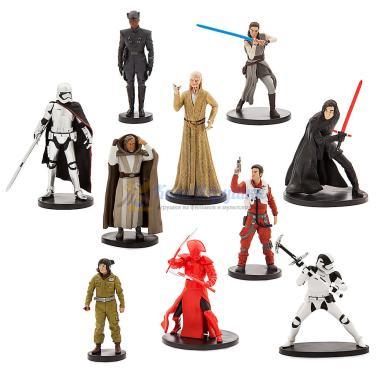 Набор фигурок 10 шт Звездные Войны Последние джедаи Disney