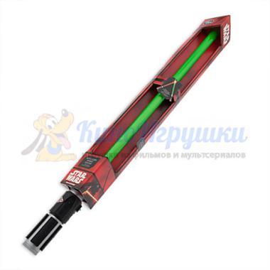 Зеленый световой меч Йоды Звездные Войны 7